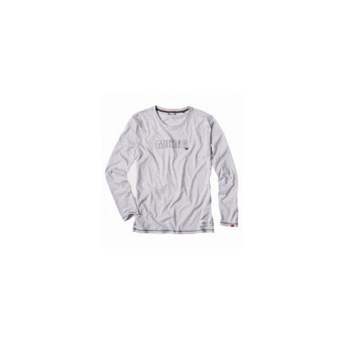 Koszulka do piżamy Mustang 4115 2300 długi rękaw szara, kolor szary
