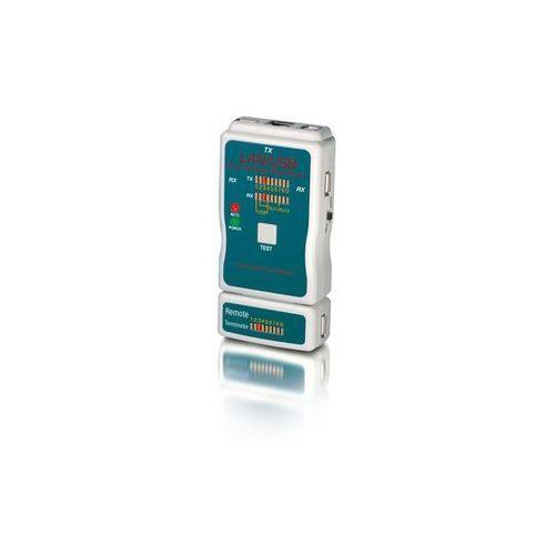Equip Tester kabli 129964 rj-45/rj-11/rj-12/usb aa/ab/rca/coaxial