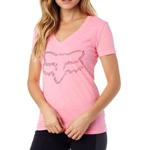t-shirt damski phoenix v neck ss tee xs różowy marki Fox