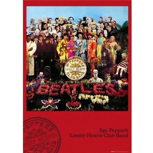 The beatles sgt. peppers lonely hearts club band - plakat marki Gb