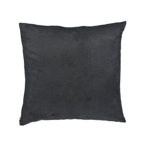 Poduszka suede czarna 45 x 45 cm marki Inspire