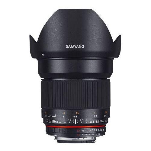 SAMYANG 16 mm F2.0 obiektyw mocowanie Sony E (NEX), 882617