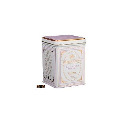 Herbata  dragon pearl jasmine, puszka piramidki 20 szt. marki Harney & sons