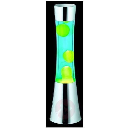 Reality LAVA lampa stołowa Chrom, 1-punktowy - Wesoły, śmieszny - Obszar wewnętrzny - LAVA - Czas dostawy: od 6-10 dni roboczych (4017807235333)