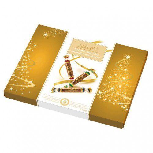 Paluszki z czekolady deserowej z płynnymi nadzieniami alkoholowymi Lindt 250g, Z5D9A-59118