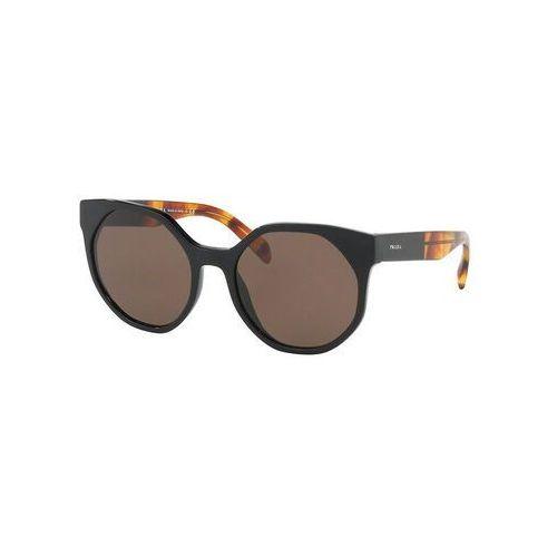 okulary przeciwsłoneczne black marki Prada