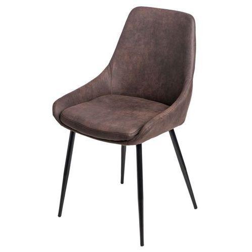 Krzesło Floyd brązowe ciemne 1025 MODERN HOUSE bogata chata, kolor brązowy