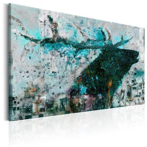 Artgeist Obraz - szafirowy jeleń