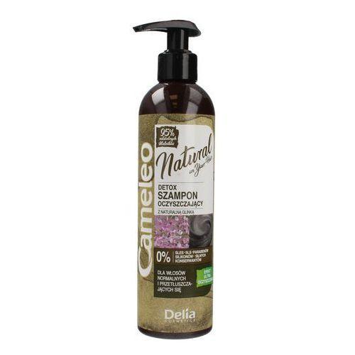 Delia cosmetics cameleo natural detox szampon oczyszczający z glinką 250ml