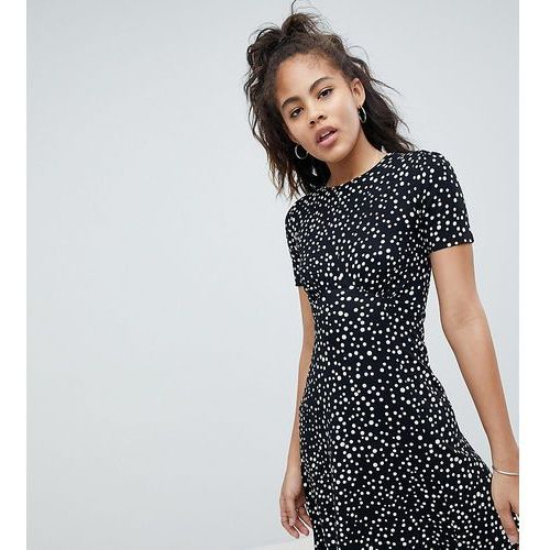 ASOS DESIGN Tall ultimate mini tea dress in scatter spot - Multi