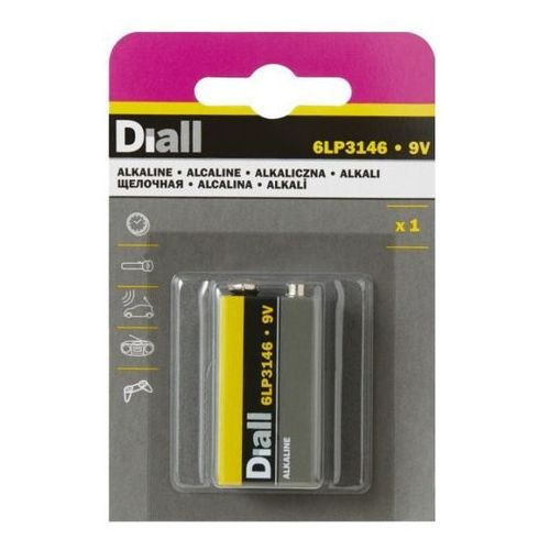 Bateria Diall 1x9V, 4122960411