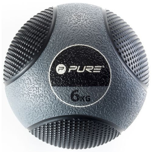 Piłka lekarska pure 2 improve p2i 6 kg medicine ball + darmowy transport! marki Pure2improve