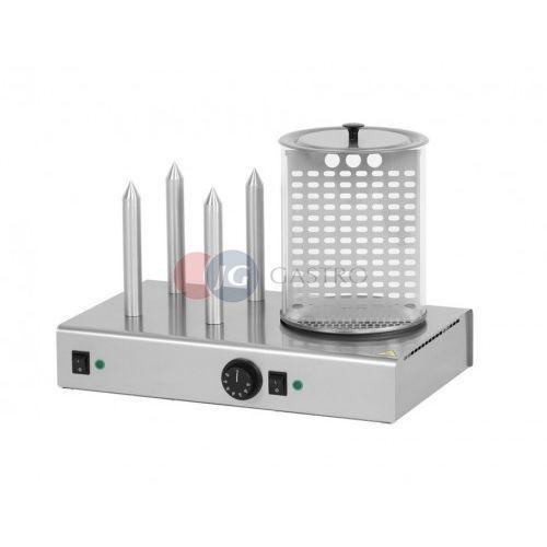 Podgrzewacz do hot dogów 4 el. grzewcze z pojemnikiem HD - 4N