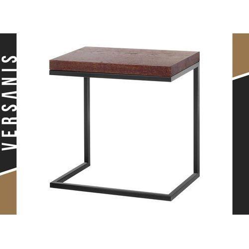 Mały stolik do salonu Functional w drewnianej okleinie naturalnej - Kapelańczyk, 491