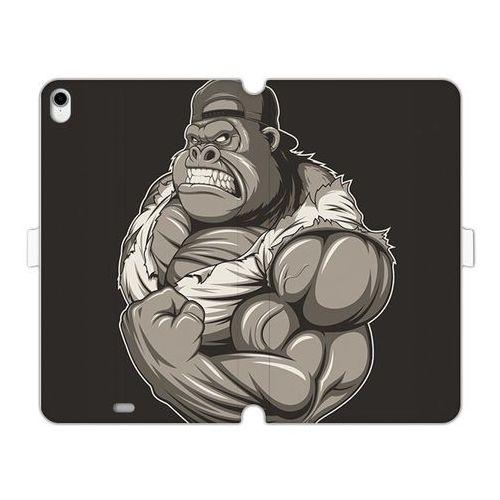 Apple iPad Pro 11 - etui na tablet Wallet Book Fantastic - goryl z mięśniami