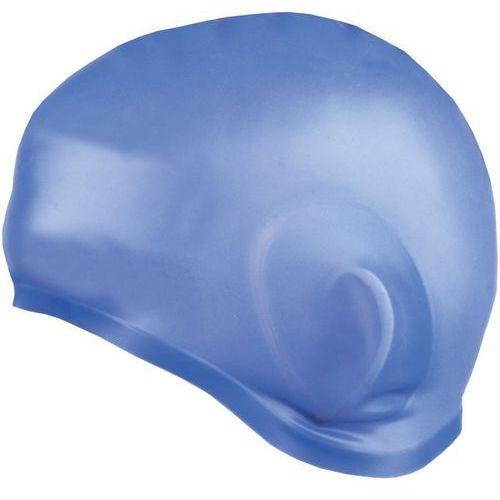 Spokey Czepek silikonowy earcap niebieski