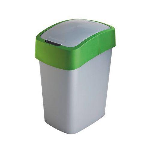 Kosz do segregacji śmieci FLIP BIN 10l zielony (3253922170079)