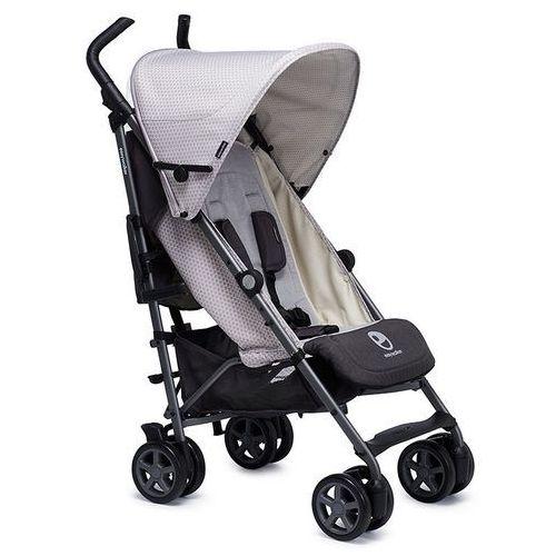 Wózek spacerowy z osłonką przeciwdeszczową Buggy+ Easywalker - Silver Circle EB10012