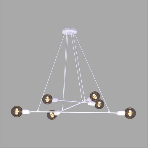 Lampa wisząca SITYA WHITE model K-4391 marki Kaja biały