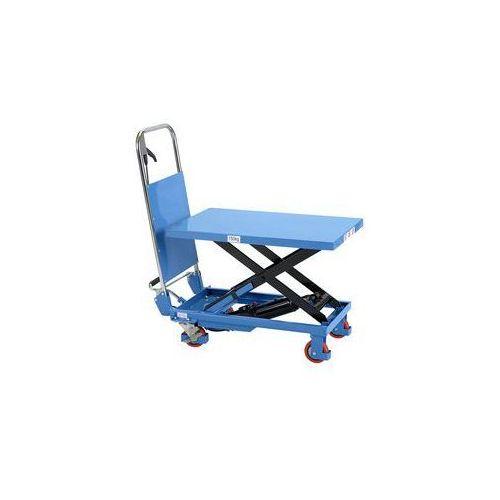 Nożycowy wózek podnośny,nośność 150 kg marki Gesutra