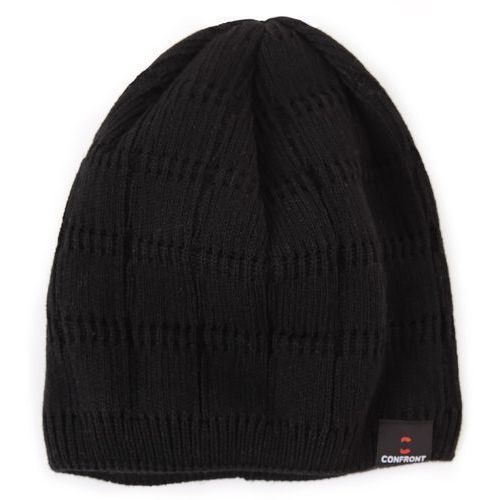 czapka zimowa vip black 110, marki Confront