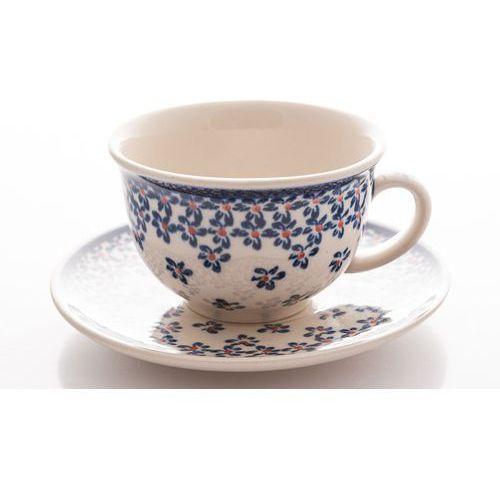 Filiżanka z bolesławca do kawy lub herbaty polska marki Bolesławiec