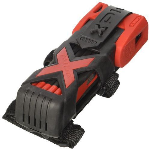 ABUS zapięcie składane 6500/85 Bordo Granit X-Plus, 85 cm, czerwony, 85 cm, 55161
