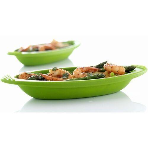 Mastrad Naczynie do zapiekania minute cooker small 2 szt. zielone (3485990681885)