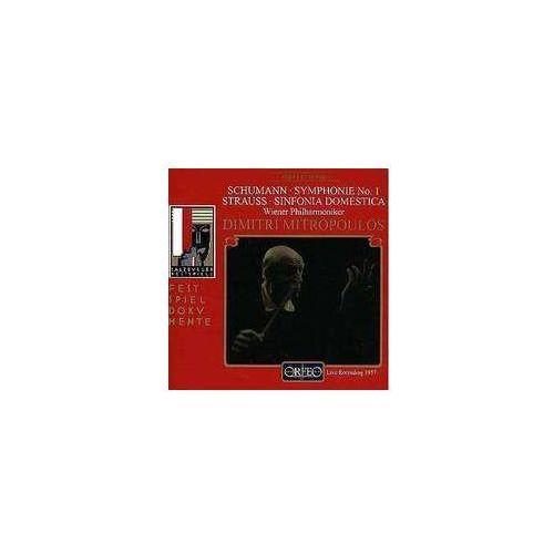 Schumann r / strauss r - sinfonia domestica / symphonie nr., marki Orfeo