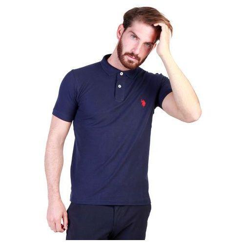 Koszulka polo męska U.S. POLO - 43652_49785-78, kolor niebieski
