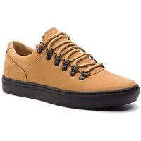Sneakersy - adv 2.0 cupsole alpine ox tb0a1y4dk381 medium beige nubuck, Timberland, 44-45.5