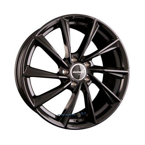 Wheelworld wh32 schwarz glänzend lackiert (sw+) einteilig 8.50 x 19 et 35