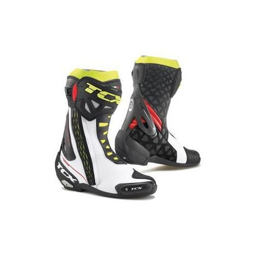 TCX RT-RACE WHITE/RED/YELLOW FLUO Buty sportowe