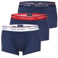Tommy Hilfiger Underwear Bokserki '3P LR TRUNK' ciemny niebieski