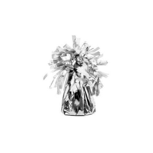 Party deco Obciążnik foliowy do balonów napełnionych helem - srebrny - 130 g. (5902230745070)
