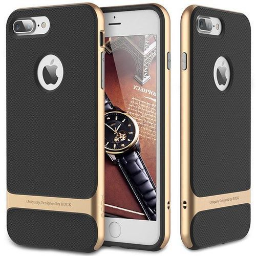 Rock Etui royce do apple iphone 7/8 plus złoty