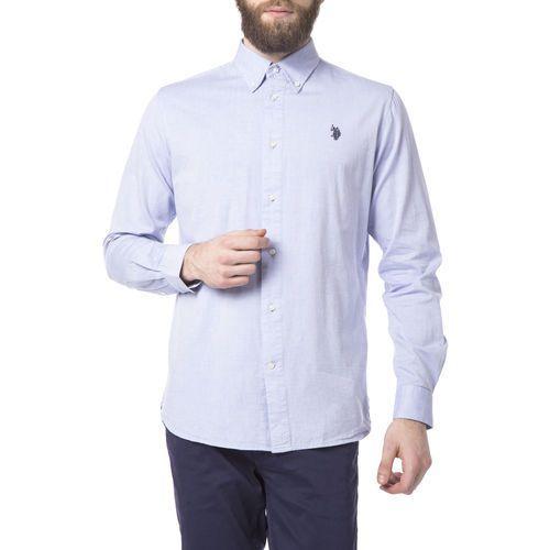 U.S. Polo Assn Koszula Niebieski L, 1 rozmiar