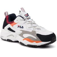 Fila Sneakersy - ray tracer 1010685.91d white/fila navy/rhubarb