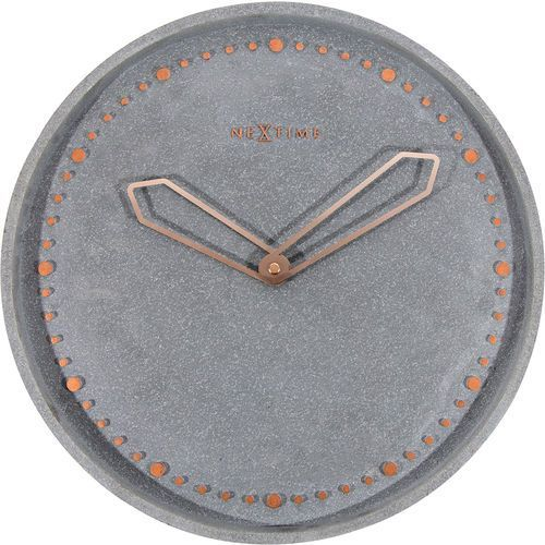 Zegar ścienny Cross Nextime szary (3197 GS), kolor szary