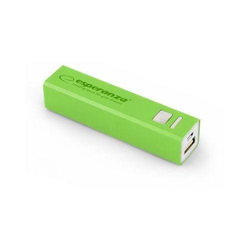 """Power bank Esperanza 2400mAh """"Erg"""" zielony"""