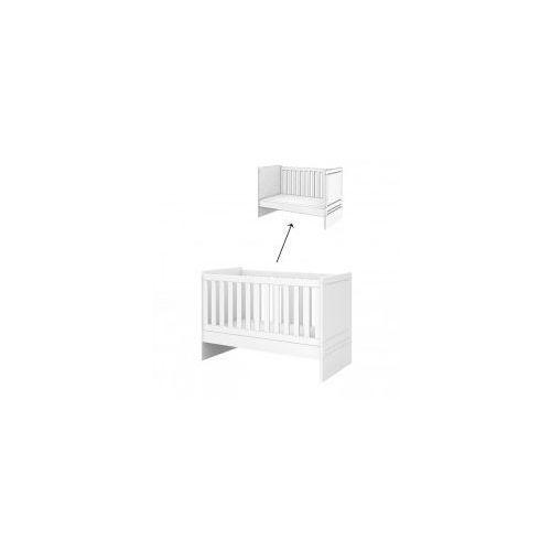 Łóżeczko z funkcją tapczanika 140x70 decco white marki Baggi design