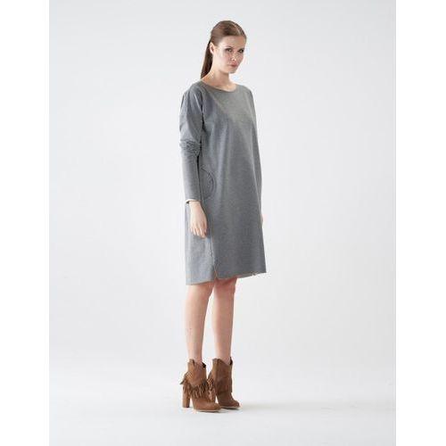 Sukienka bl66 (kolor: niebieski, rozmiar: uniwersalny), Vzoor