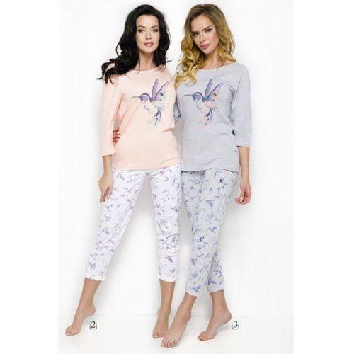Piżama damska model agnieszka 2234 aw/18 k03 grey, Taro