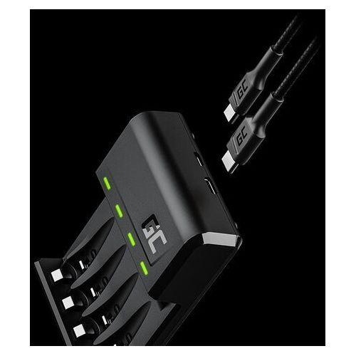 Ładowarka vitalcharger do akumulatorów aa r6 oraz aaa r03 ni-mh marki Green cell