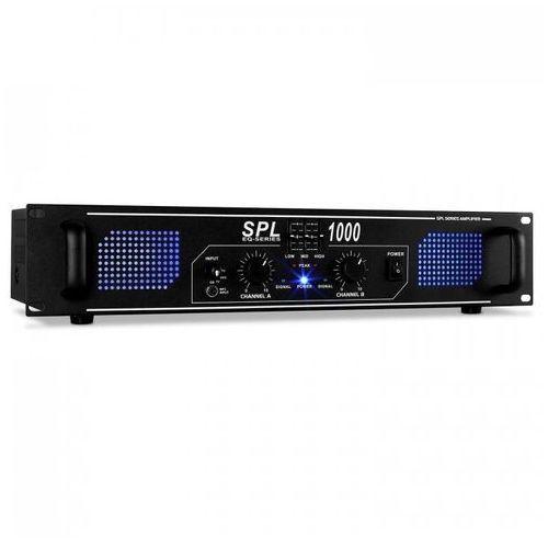Spl1000 audio led wzmacniacz dj pa 2800w equalizer marki Skytec