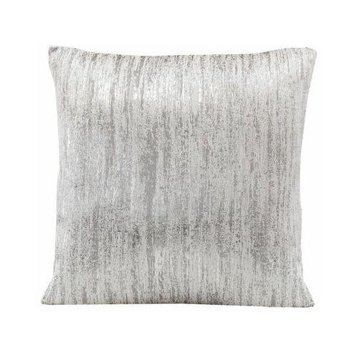 Poduszka VENICE biało-srebrna 45 x 45 cm INSPIRE (3276007078725)