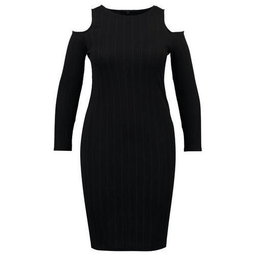 Missguided Plus Sukienka etui black