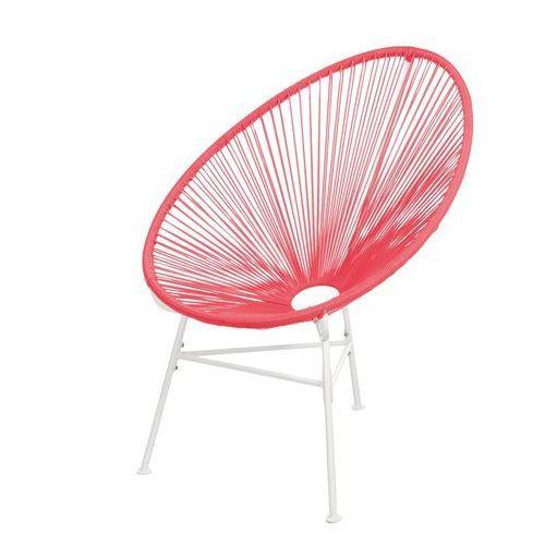 Interior Krzesło mexico czerwone - 3 nogi - wzór 4