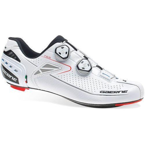 composite carbon g.chrono+ buty mężczyźni biały 44 2018 buty rowerowe marki Gaerne