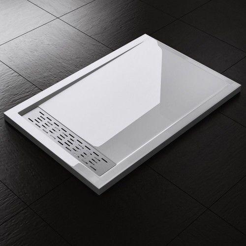 Swiss liniger Xe - brodzik akrylowy niski prostokątny